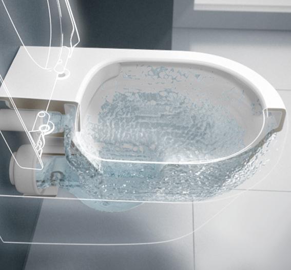 Toalett sprute