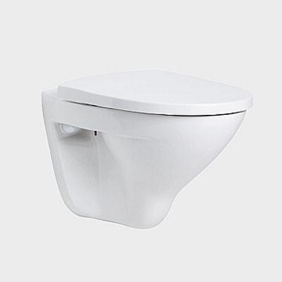 Toalettskål for veggmontering