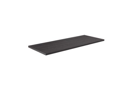 Benkeplate svart cortina eik 120 cm