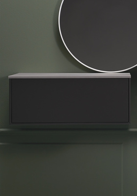 Hafa Edge side modul 600 antracit