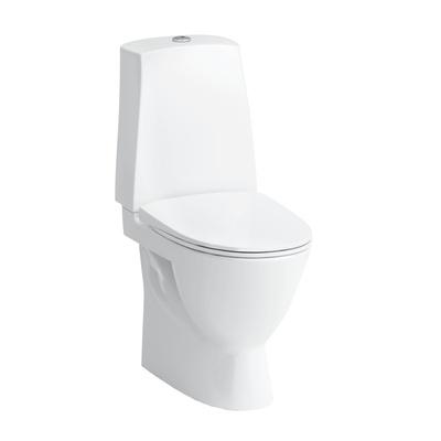 Pro N WC skjult S-lås høy modell 46 cm limning, hvit