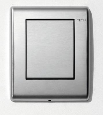 Tece Tec Eplanus Urinal Betjeningsplate. Børstet Rustfritt Stål