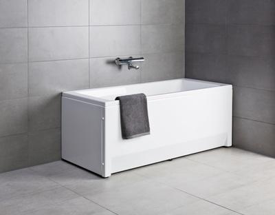 Porsgrund Seven D rektangulært badekar
