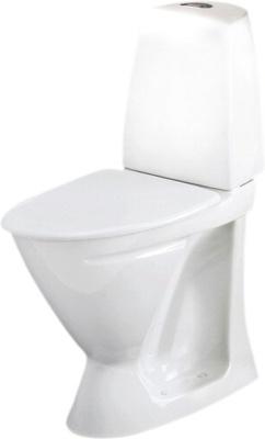 Ifö Sign Toalett 6872 Universalavløp Hvit Forhøyet