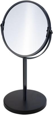 Duschy Bordspeil 2-sidig 3X forstørrelse matt sort