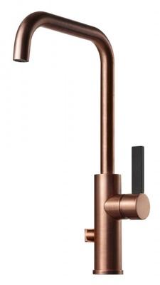Tapwell ARM984 Oksiderende Kobber/Sort Kjøkkenbatteri m. avst.