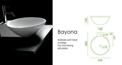Bathco Bayona servant