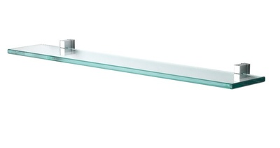 Damixa G-Type 3.0 G Type glasshylle 600mm med holdere, krom