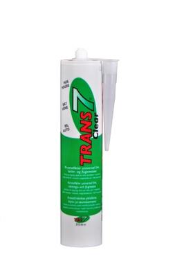Tec7 Trans7 Klar 310 ml patron, Miljøvennlig MS lim/fugemasse