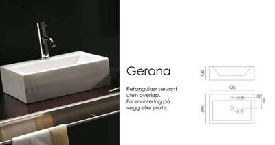 Bathco Gerona servant