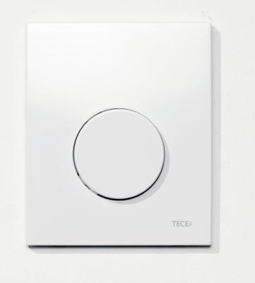 TECEloop urinal betjeningsplate plast, hvit