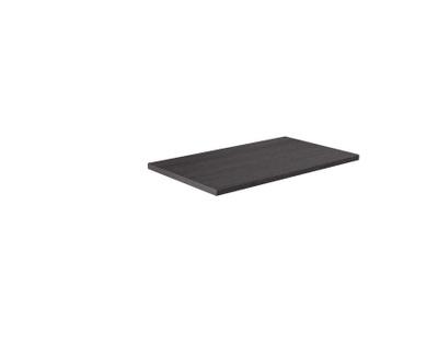 Benkeplate svart cortina eik 80 cm