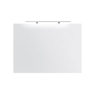 Speil 100 med LED-lampe IP44