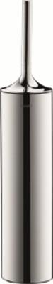 Duravit Starck T 80x80mm  Toalettbørste, krom, gulvstående