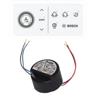 Bosch CV 40 H styring + innfelt strømadapter