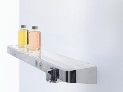 Showertablet Select 700 Dusjkran hvit/krom