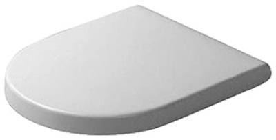 Duravit Starck 3 360X420mm toalettste u/SoftClose Hengsler i rustfritt stål