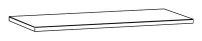 Alterna Benkeplate 126 x 61 grå