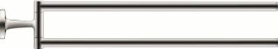 Duravit Starck T 50x465mm Håndkleholder med 2 svingbare armer, krom