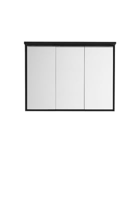 Hafa Original speilskap 900 sort finér