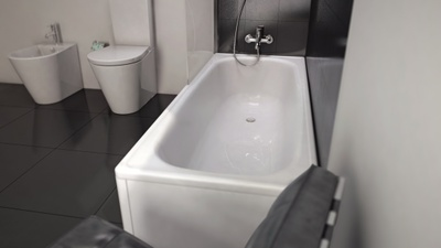 Laufen Pro Milano Badekar,  1700x700 mm