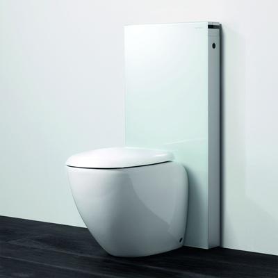 Monolith Toalettmodul, hvit gulvstående