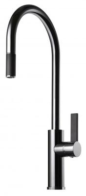 Tapwell ARM185 Krom/Sort Kjøkkenbatteri