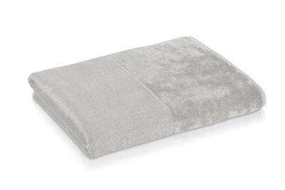 Möve Bambus Lux Håndkle 80*150 sølvgrå