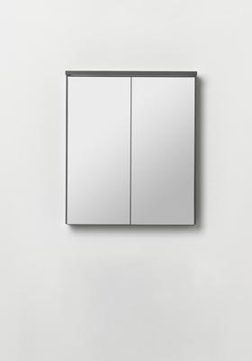 Hafa Edge speilskap 600 antracit