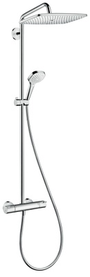 Hansgrohe Talis Puro Showerpipe takdusj med termostat dusjkran