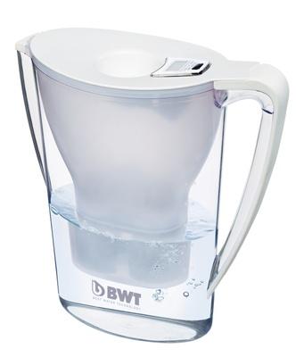 Filterkanne hvit, 2,7 liter med filter
