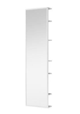 Hafa One speil i helfigur med oppbevaring hvit matt