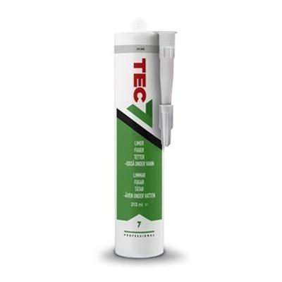 Lim/fugemasse, lys grå 310 ml patron, miljøvennlig