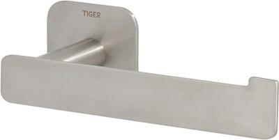 Tiger Colar mattbørstet rustfritt stål Toa.Rullholder (L Shape) Dbl.Sidig Tape Colar Matt