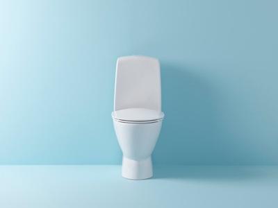Ifø Spira Art 6240 Gulstående toalett u/sete