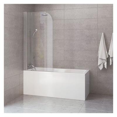 Badekar Kvadrat 160, pakke m/panel, 80cmbk.vegg, Skage Rainshower