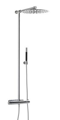 TVM300-150 Krom takdusj komplett