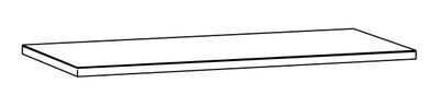 Alterna Benkeplate 246 x 61 grå