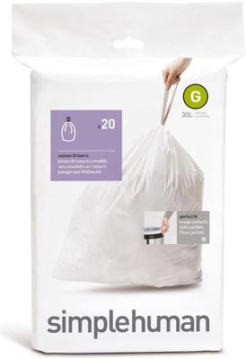 Simplehuman Simplehuman Avfallspose G, 20 Stk Pr Rull