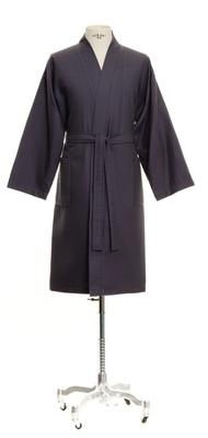 Möve Wafflepiquee Kimono Blue - Medium