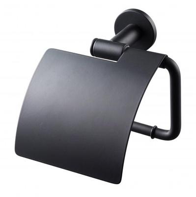 Tapwell TA236 Matt Sort Toalettpapirholder m/lokk
