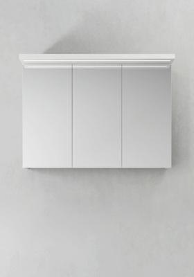 Hafa Speilskap Store Ledprofil Hvit 1000