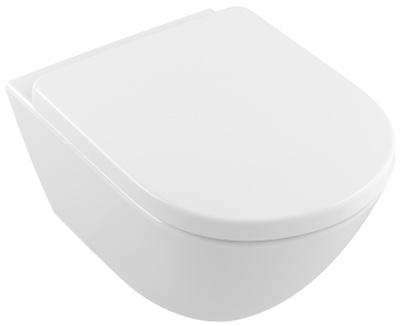 Toalettskål for veggmontering, 580x410 mm, ekstra stor