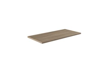 Benkeplate grå bardolino eik 120 cm