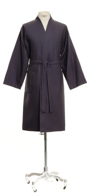 Möve Wafflepiquee Kimono Blue - Large