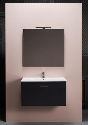 Hafa Go 800 kompl m speil svart, og servant