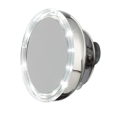 Speil sugekopp med belysning