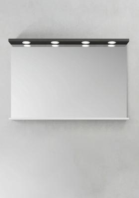 Hafa Speil Store Ledspots Antracit 1200