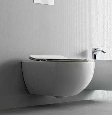 Alterna Arco Veggskål Rimless 51x36x35 utstyrt med NORIM® rimless teknologi