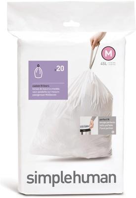 Simplehuman Simplehuman Avfallspose, 20 Stk Pr Rull